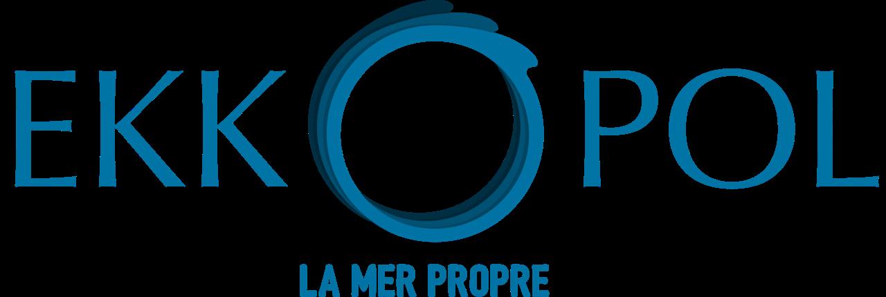 Logo vectorisé + la mer propre brushcraft