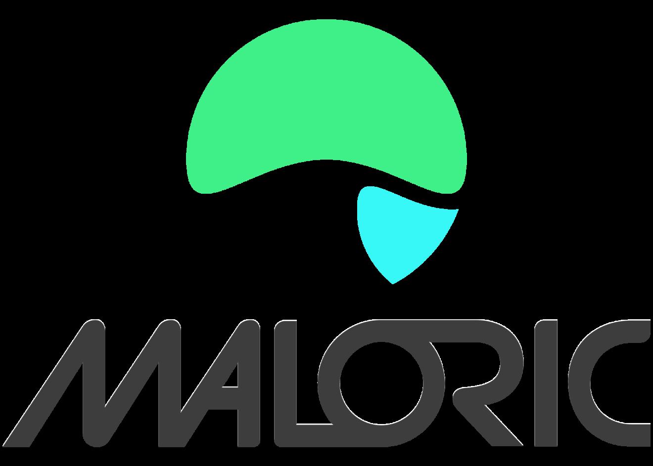 Maloric_LogoVerticalNoir